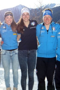 Presentazione squadra italiana biathlon  Anterselva 24 gennaio 2016 photo (Pentaphoto)