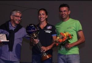 consegna del premio dolomiti champion