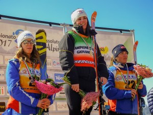 campionato italiano Giovani superG femminile 28.03.2017