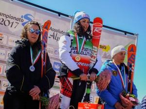 campionato italiano asssoluto superG femminile 28.03.2017