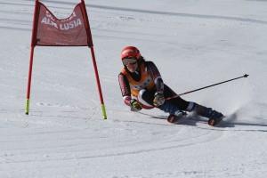 federica brignone vittoria gigante camp italiano alpe lusia 25.03.2017 CREDITO MPHOTO