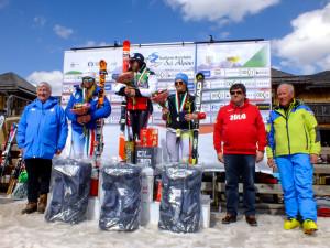 podio ufficiale gigante 25.03.2017