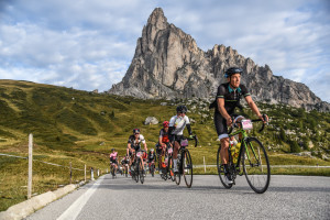 Haute Route Dolomites 2016 - transito Passo Giau