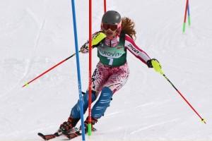 finali eurovita 14.03.2018 cortina - gaia viel vincitrice slalom ragazze
