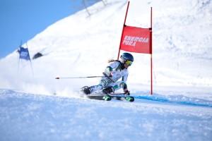 tricolori children - Lucia Pizzato campionessa nazionale Allieve gigante 27.03.2018