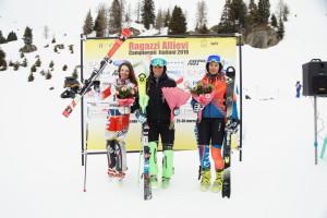 tricolori children - podio allieve slalom 26.03.2018