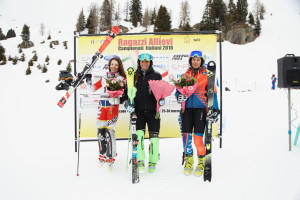tricolori children - podio allieve slalom 26.03.2018