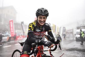 Haute_Route_Stelvio_2018 - la vincitrice Arianna Marchesini - credito Jennifer Doohan