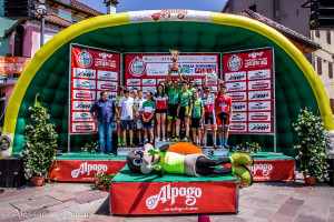Alpago Bike Funtastic 2019 - il podio della Coppa Italia giovanile - FOTO ALESSANDRO BILLIANI
