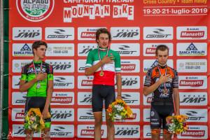 podio Juniores M