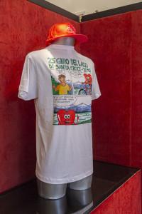 giro del lago - 10 agosto 2019 maglietta 2019 opera di manuel zanette