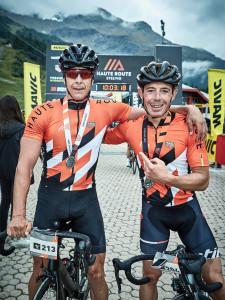HR STELVIO 22.09.2019 - i vincitori finali da sx Daniele Schena e Michele Antonioli - credito DAN GLASSER