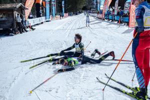 ©Ticomunicazione - Campionati italiani sci di fondo Falcade ELIA BARP E ANDREA GARTNER 1. e 2. ASPIRANTI M