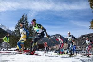 ©Ticomunicazione - Elia Barp vincitore sprint tc coppa italia Rode Falcade 22.02.2020