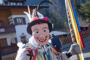 MASCHERA ©Ticomunicazione - Zinghenesta 2020 - Carnevale Canale D'Agordo